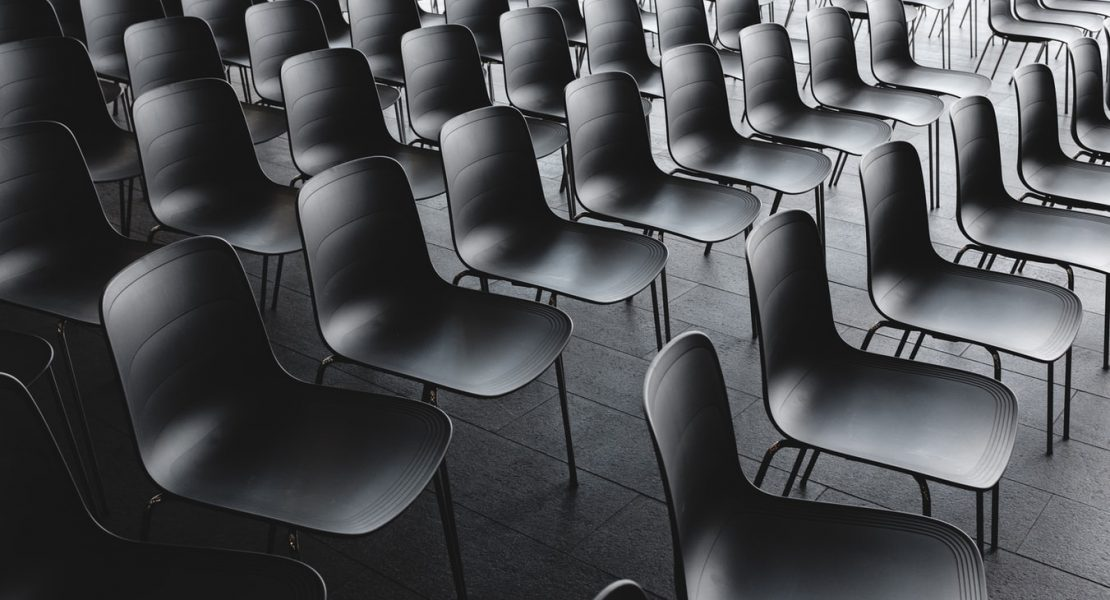 empty chairs