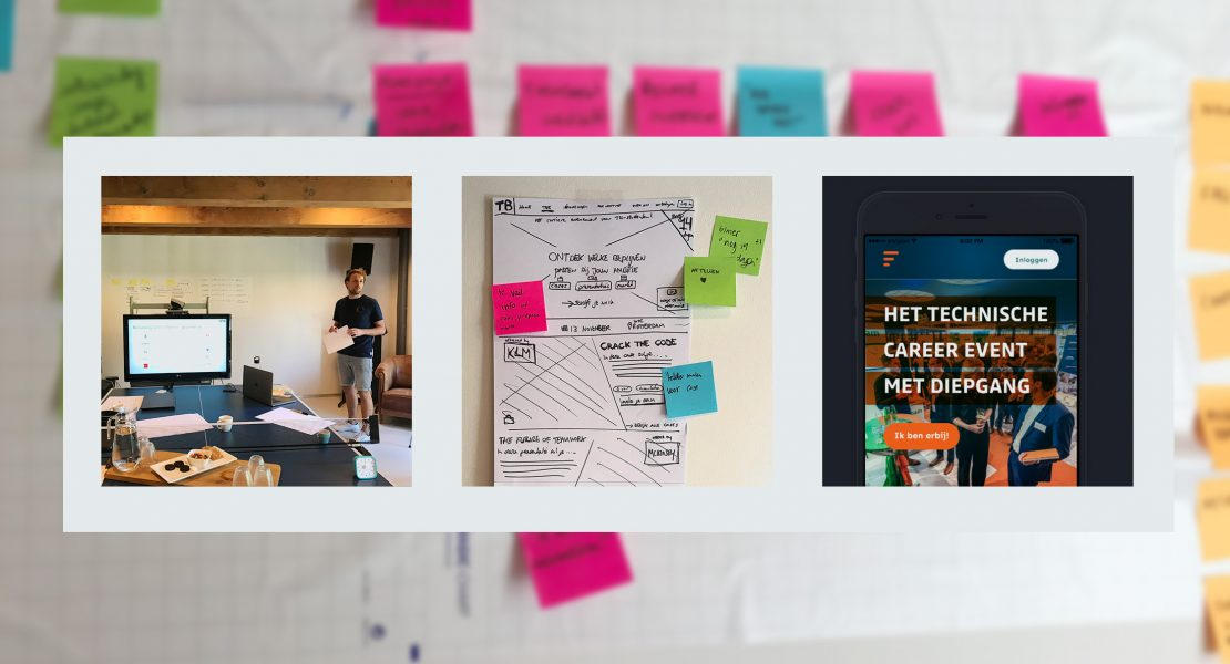 Design process: from idea to tested concept